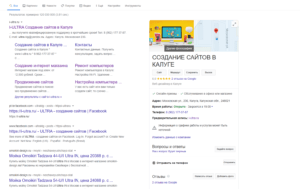 Katalog organizacii v Gugl